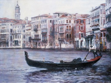 Venice Chinese Chen Yifei cityscape Oil Paintings