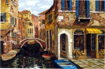 YXJ0436e impressionism Venice scape Oil Paintings