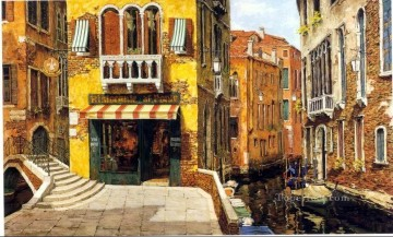 YXJ0444e impressionism Venice scape Oil Paintings