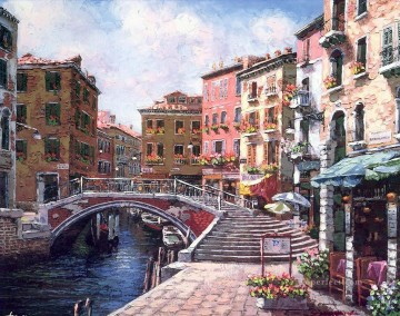 YXJ183aB Venice scenes Oil Paintings