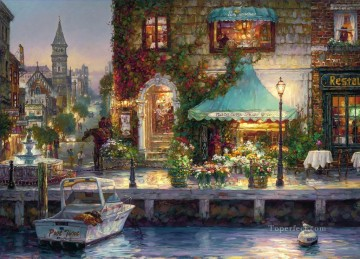 sv0055D impressionism Venetian Oil Paintings
