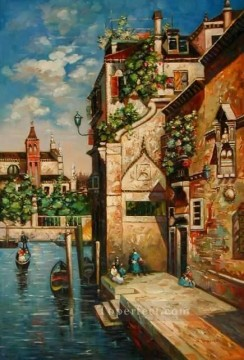 yxj054aB impressionism Venetian Oil Paintings