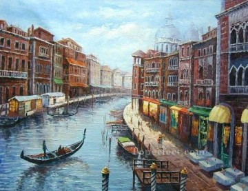 yxj057aB impressionism Venetian Oil Paintings