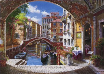 Archway to Venice Oil Paintings