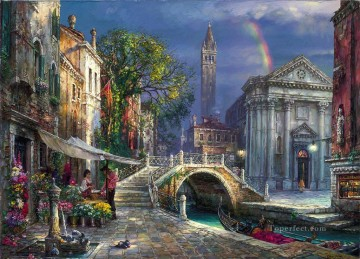 Day of Love Venice Oil Paintings