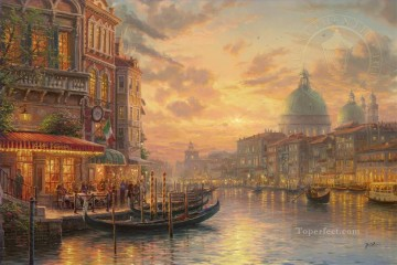 Artworks in 150 Subjects Painting - Venetian Cafe Italian