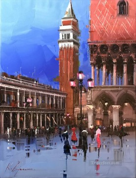 Venice 2 palette KG cityscape Oil Paintings