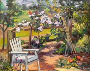 my garden corner Oil Paintings