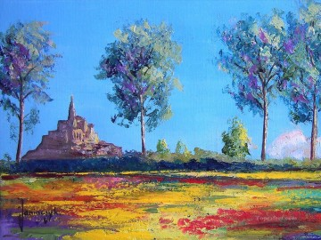 PLS06 beautiful landscape garden Oil Paintings