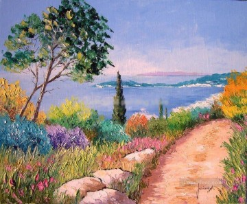 PLS53 impressionism landscapes garden Oil Paintings