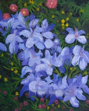 yxf002bE impressionism garden Oil Paintings