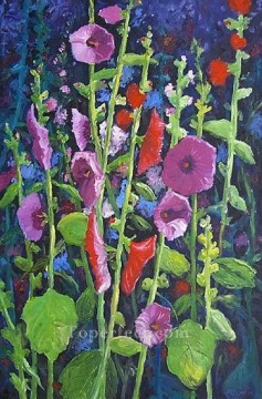 yxf006bE impressionism garden Oil Paintings