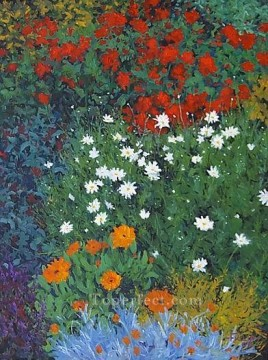 yxf012bE impressionism garden Oil Paintings