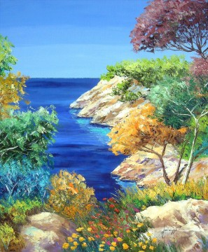 The cove garden Oil Paintings