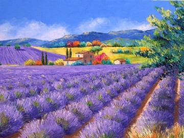 PLS05 beautiful landscape garden Oil Paintings