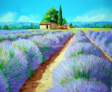 PLS18 beautiful landscape garden Oil Paintings
