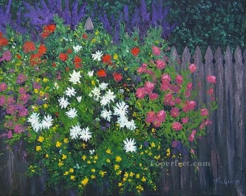 yxf036bE impressionism garden Oil Paintings