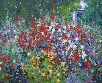 yxf044bE impressionism garden Oil Paintings