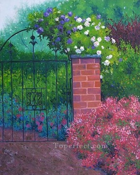 yxf045bE impressionism garden Oil Paintings
