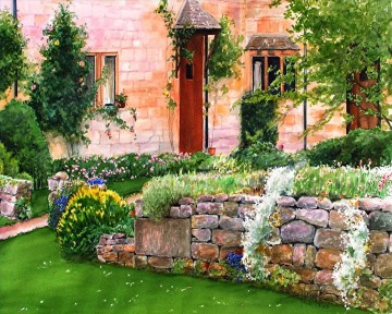 Cottswold garden AP sm Oil Paintings