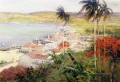 Havana Harbor scenery Willard Leroy Metcalf Landscape