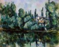 The Banks of the Marne Paul Cezanne Landscape