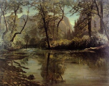 Yosemite Valley California Albert Bierstadt Landscape Oil Paintings