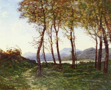1819 Works - French 1819 to 1916 Environs De Menton Le Royal Barbizon landscape Henri Joseph Harpignies Landscape