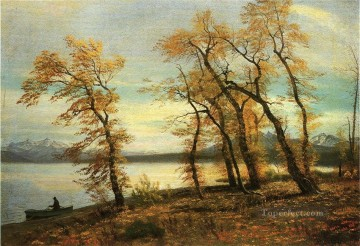 Lake Mary California Albert Bierstadt Landscape Oil Paintings