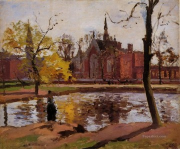 London Art - dulwich college london 1871 Camille Pissarro Landscape