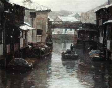 Landscapes from China Painting - Snow covered Landscapes from China