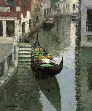 Artworks in 150 Subjects Painting - Gondola China scenery