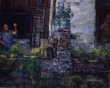 Landscapes from China Painting - yi021D Chinese painter Chen Yifei Landscapes from China