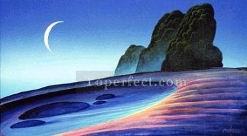 Mountain Painting - xdf005aE modern landscape mountains.JPG
