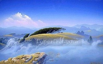 xdf006aE modern landscape mountains.JPG Oil Paintings
