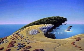 Mountain Painting - xdf009aE modern landscape mountains.JPG