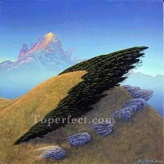 Mountain Painting - xdf013aE modern landscape mountains.JPG