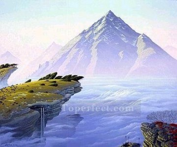 Mountain Painting - xdf016aE modern landscape mountains.JPG