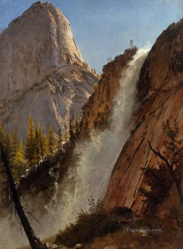 Yosemite Art - Liberty Cam Yosemite Albert Bierstadt Mountain