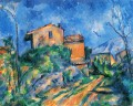 Maison Maria with a View of Chateau Noir Paul Cezanne Mountain