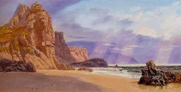 Mewslade landscape Brett John Mountain Oil Paintings