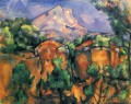 Mont Sainte Victoire 1897 Paul Cezanne Mountain