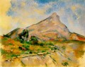 Mont Sainte Victoire 1898 Paul Cezanne Mountain