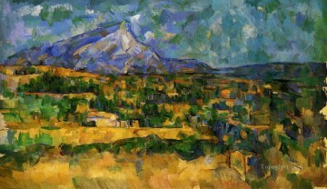 Sainte Painting - Mont Sainte Victoire 3 Paul Cezanne Mountain