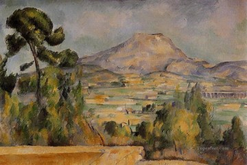 Mont Sainte Victoire 4 Paul Cezanne Mountain Oil Paintings