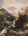 Mountain of the Holy Cross landscape Thomas Moran