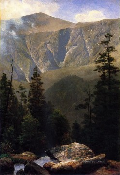 Mountainous Landscape Albert Bierstadt Oil Paintings