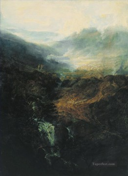 Norham Castle Sunrise Turner Mountain Oil Paintings