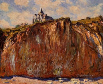 The Church at Varengeville Claude Monet Mountain Oil Paintings