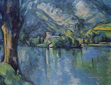 The Lacd Annecy Paul Cezanne Mountain Oil Paintings